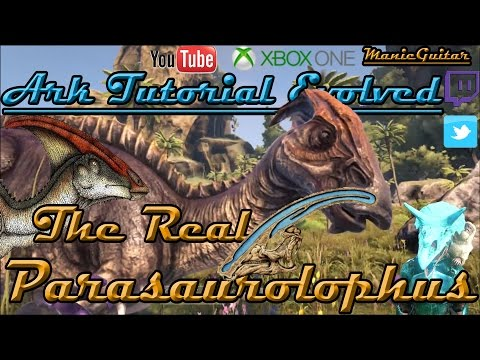 Ark Tutorial Evolved: S02Ep03 The Real Parasaurolophus Or Godzilla?