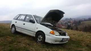 Subaru Justy Test Drive