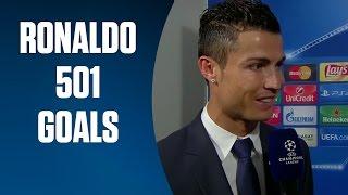 Cristiano Ronaldo 501 career goals | BT Sport
