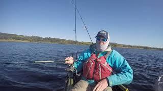 kayak fishing for big pike