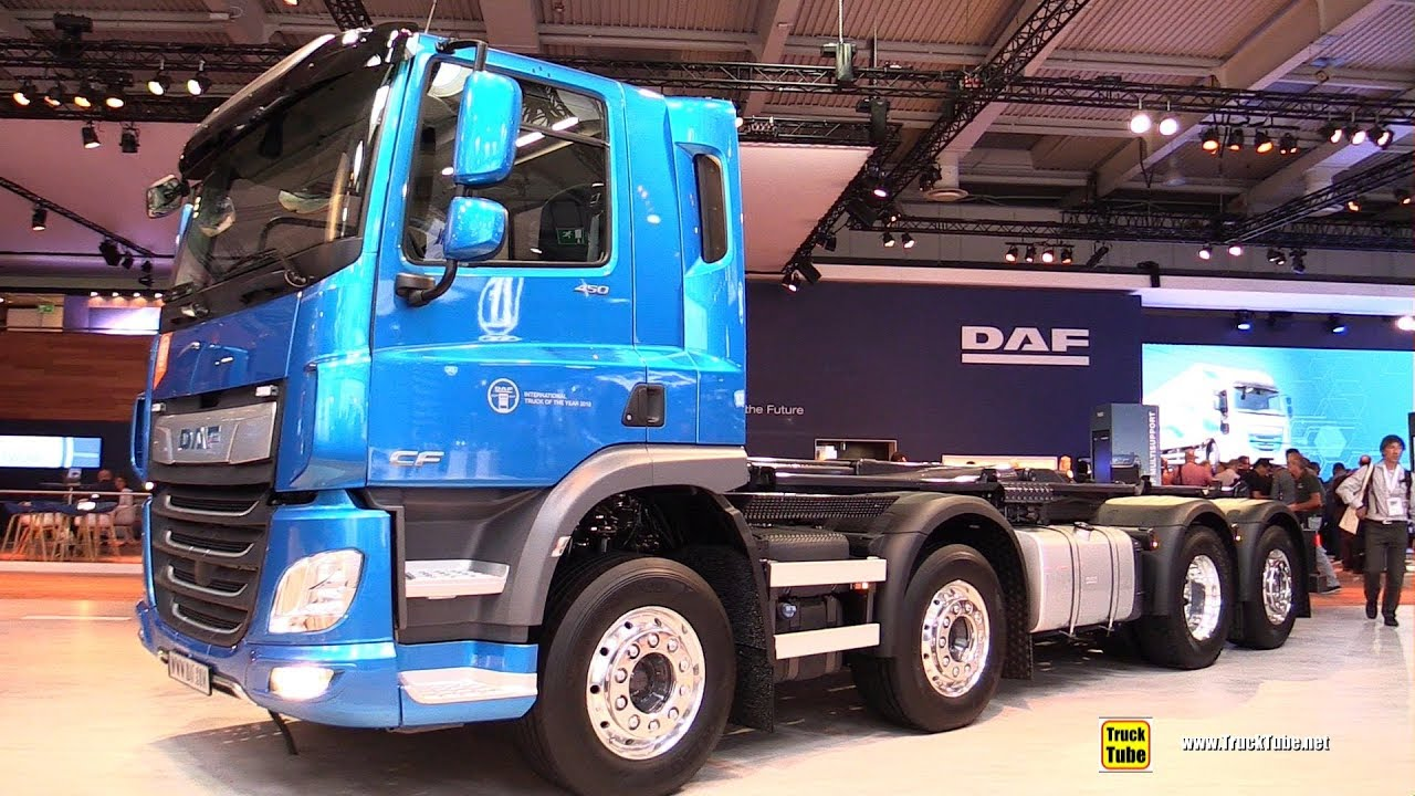 2019 DAF CF 450 FAX 450hp Tractor - Exterior and Interior