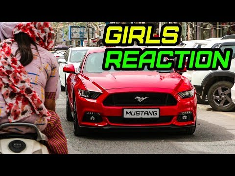 Super CAR Reaction -- GIRLS GO CRAZY in DELHI 😈