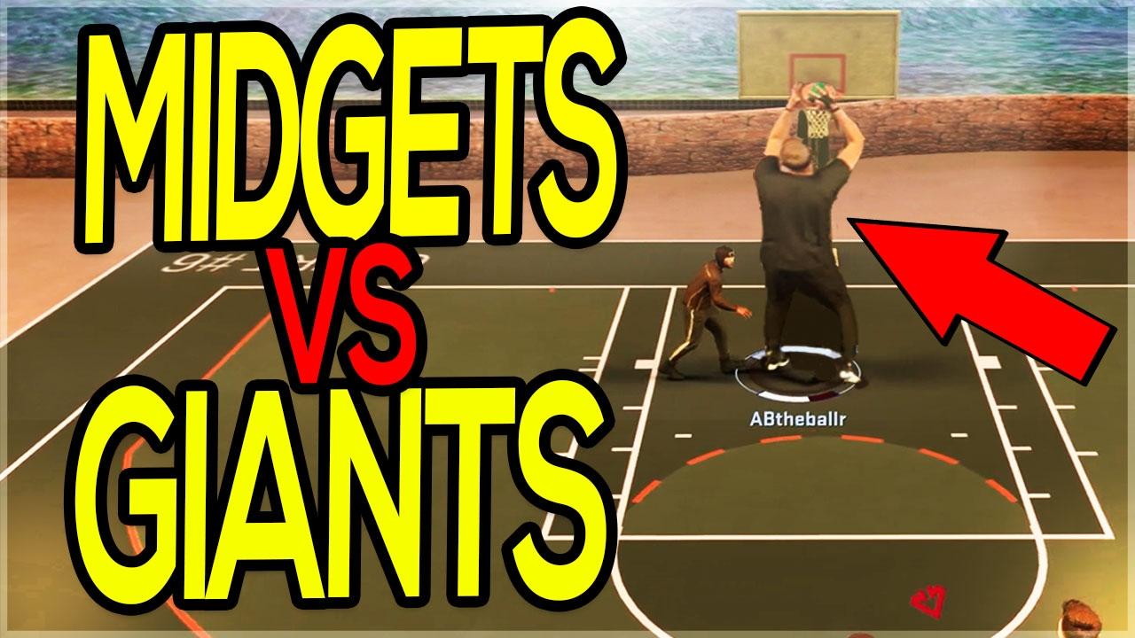 Midget & Giant. | Giants | Pinterest