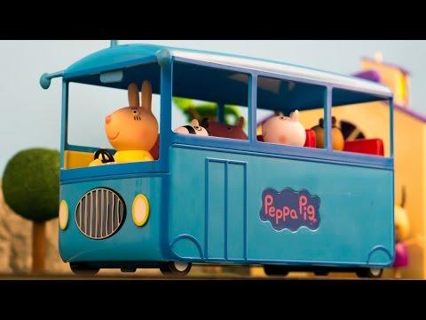 Peppa Pig School Bus ride home