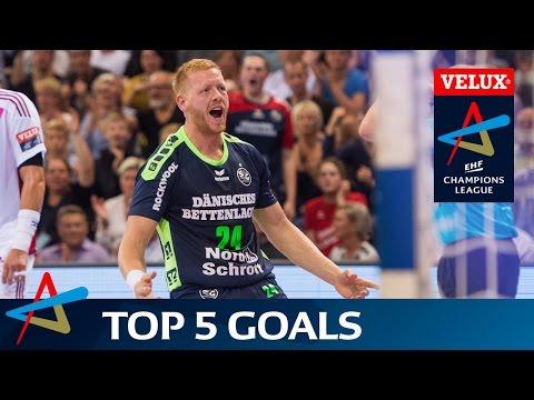 Top 5 Goals | Round 1 | VELUX EHF Champions League 2016/17