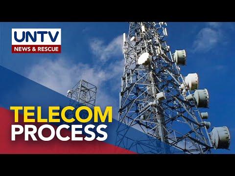 Proseso sa pagkuha ng mga permit sa pagpapatayo ng telecom towers, mas pinabilis