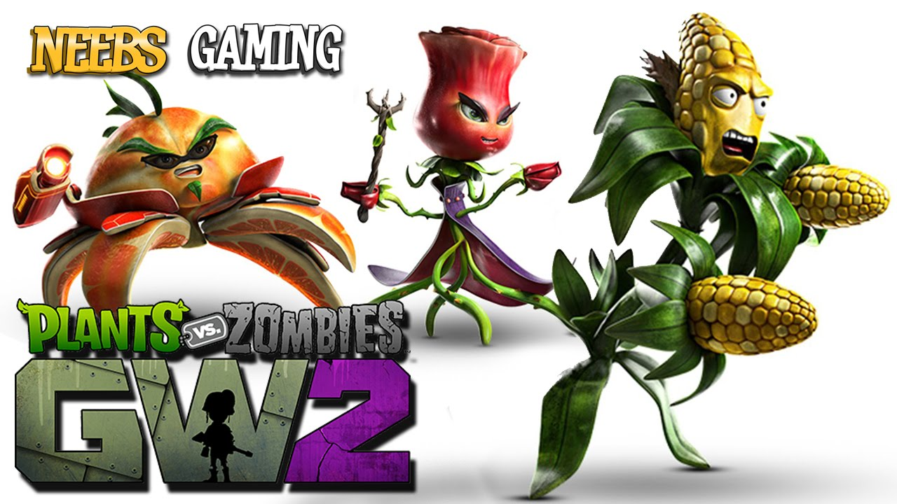 Plants Vs Zombies Garden Warfare 2 Plant Characters