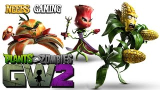 Plants vs Zombies Garden Warfare 2 - Plant Characters
