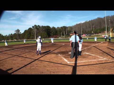 2014 AHSAA Softball: Briarwood Christian 2 Oakman High School 0
