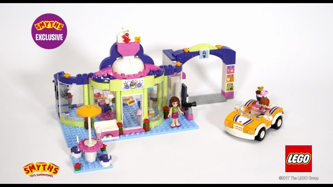 Smyths Toys Lego 41320 Friends Heartlake Frozen Yogurt Shop Youtube