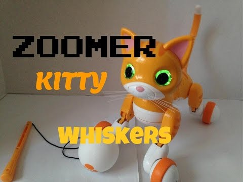 Zoomer Kitty Whiskers The Tabby Cat Review!