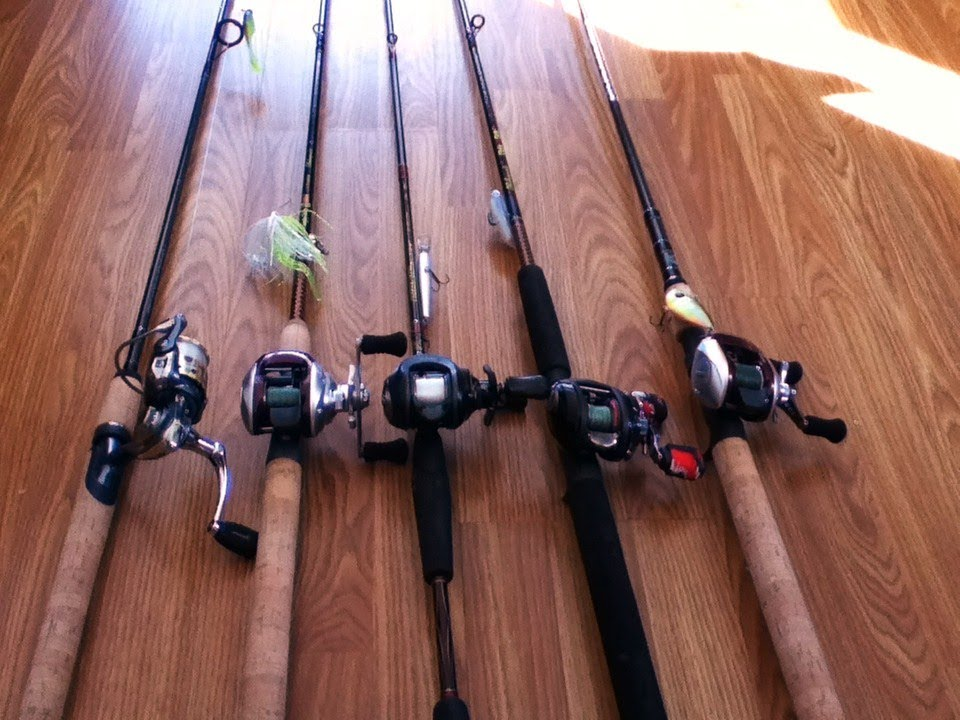 Rod & Reel combos for 2013 - YouTube