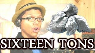 """Sixteen TONS"" Tay Zonday Sings Merle Travis / Tennessee Ernie Ford!"
