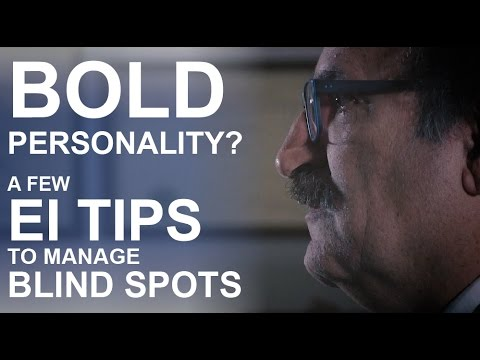 EI Minute 2x08 - BOLD Personality? A Few EI Tips To Manage Blind Spots