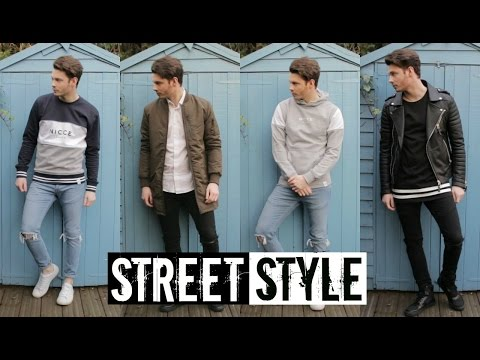 How To Style StreetWear  Mens Street Style Fashion & Trends 2016