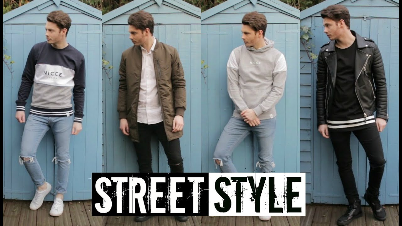 How To Style Streetwear Mens Street Style Fashion Trends 2016 Youtube
