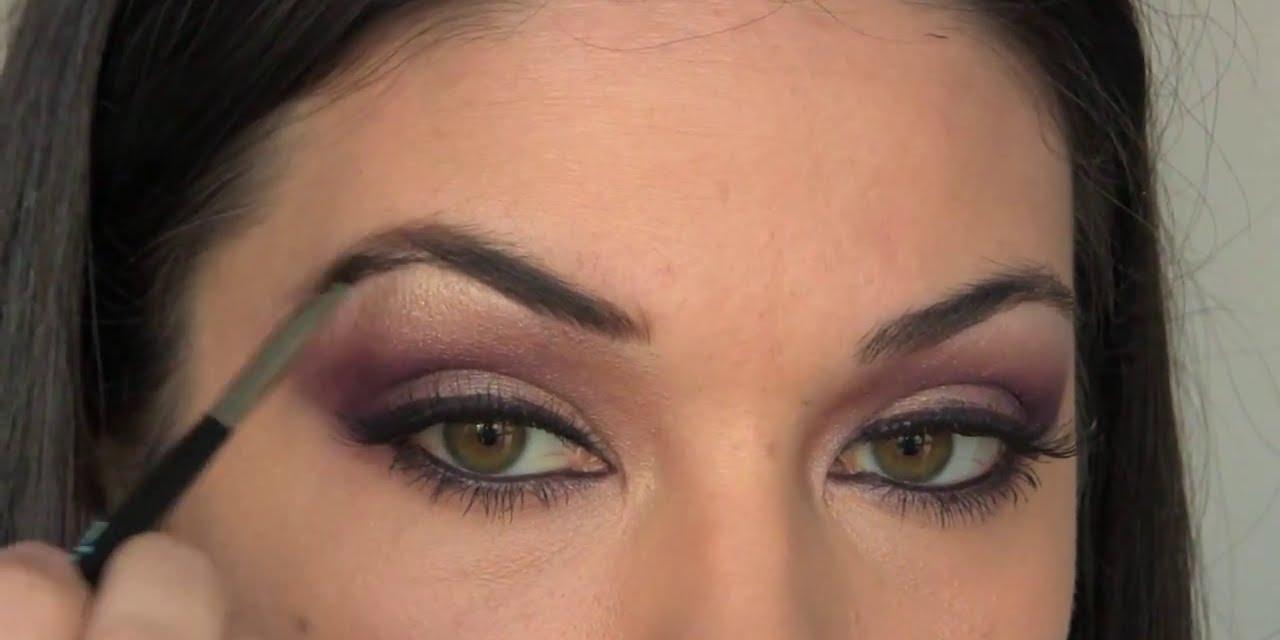 maquillage arabe tutoriel arabe yeux youtube. Black Bedroom Furniture Sets. Home Design Ideas