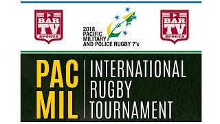 2018 Pacific Military & Police Rugby Women's 7's Tournament @ Portsea Oval - Morning Session