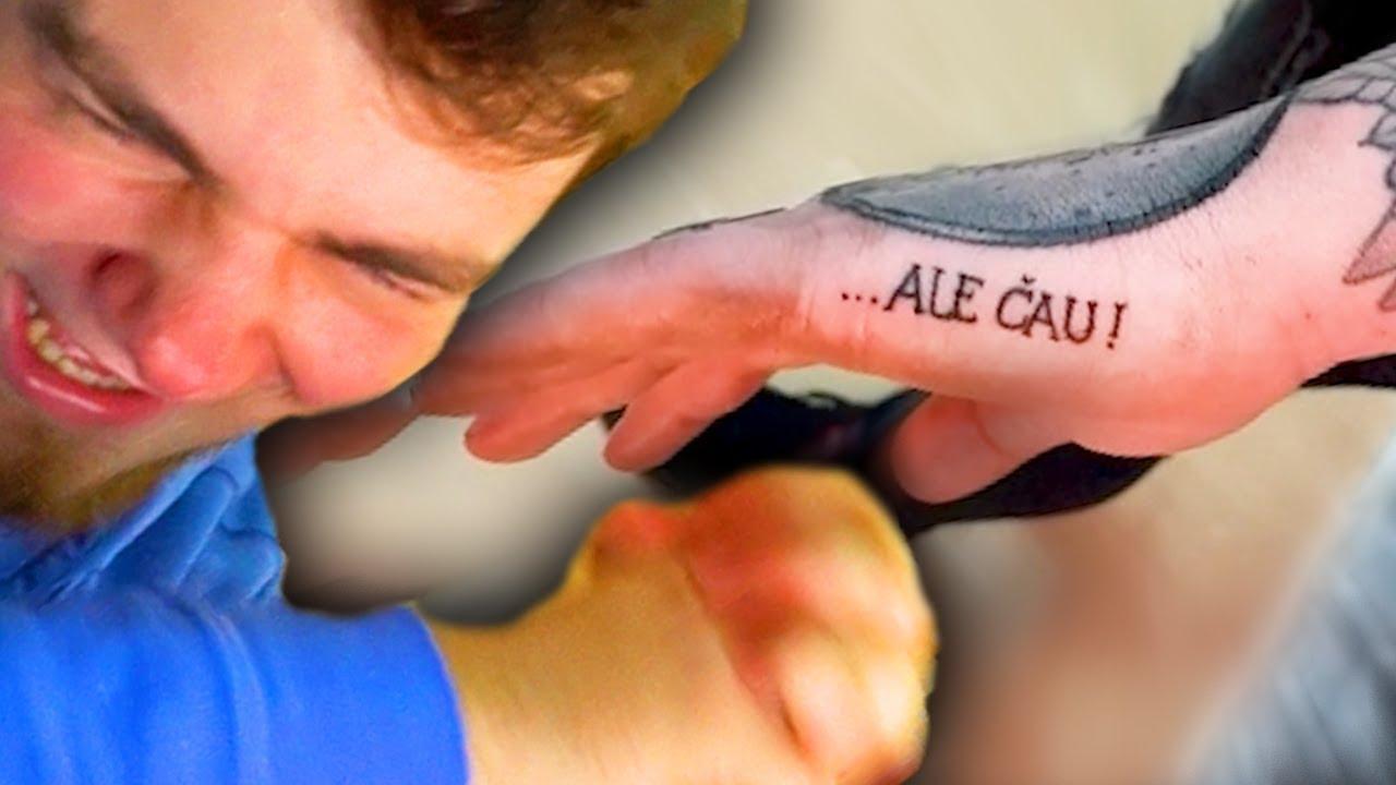 3dd344a17ffe Youtubeři.cz - Čávo si dal ALE ČAU Tetovanie!  ME