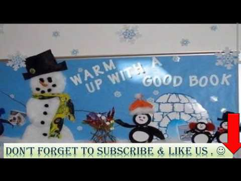25 best winter themes to decorate soft board for montessori