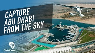 Flying over the city is one of the must things to do | Visit Abu Dhabi