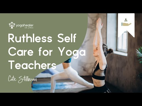 Elena Brower Ruthless Self Care for Yoga Teachers with Ayurveda