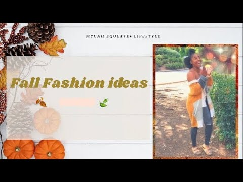 [VIDEO] - FALL FASHION IDEAS | Fall Lookbook 2019 | Trendy Fall wear 1