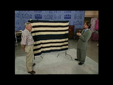Behind the Scenes at Antiques Roadshow in Tucson: The Navajo Blanket