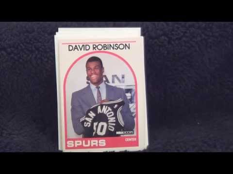 1989-90 Hoops Basketball Trading Card Pack Opening