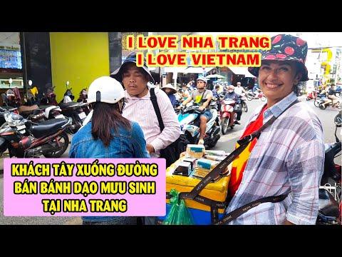 Bà Tây bán hàng rong ở Nha Trang để mưu sinh trong mùa dịch | Nghiêm Trang TV