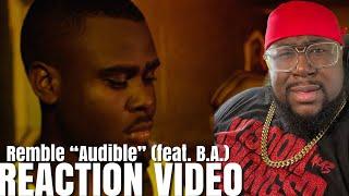 Remble - Audible (feat. B.A.) [Official Video] REACTION !!!!