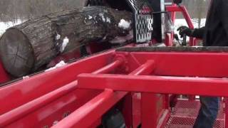 wood beaver model 18 mvp firewood processor resource recovery systems inc