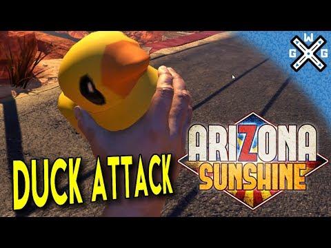 Duck Attack & Quack Quack %$#@ Achievements  🕹️Arizona Sunshine 🕹️