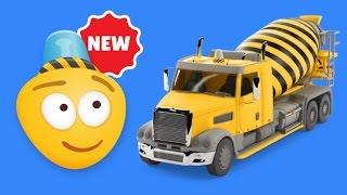 Мультфильмы про машинки - мультики грузовики | Бетономешалка(Подпишись на мой канал, ставь лайки! Привет, друг! Меня зовут Bambo-Jambo, и я рад, что ты зашел ко мне в гости. Это..., 2015-10-19T14:14:05.000Z)