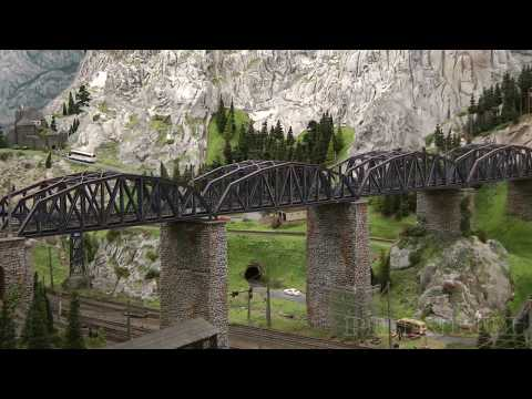model-railroading-in-austria:-discover-the-beauty-of-the-alpine-landscape-on-a-model-train