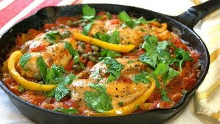 One Pan Chicken Breasts Roman Style