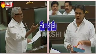 war-of-words-between-mla-jeevan-reddy-and-minister-ktr-telangana-assembly-watch-exclusive