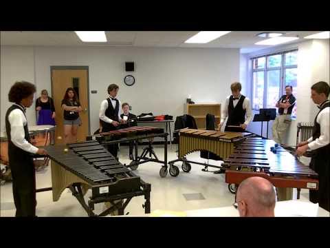 """""""Metric Lips"""" Percussion Ensemble - Lakeland HS  State Solo & Ensemble 2015"""