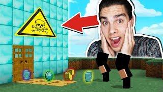 ЭПИЧНАЯ НОВАЯ ЛОВУШКА В Minecraft! БАНДИТЫ НЕ СМОГЛИ ОГРАБИТЬ МОЙ СУПЕР ДОМ, ТРОЛЛИНГ
