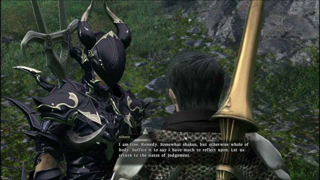 FFXIV Dragoon Job Quest - YouTube