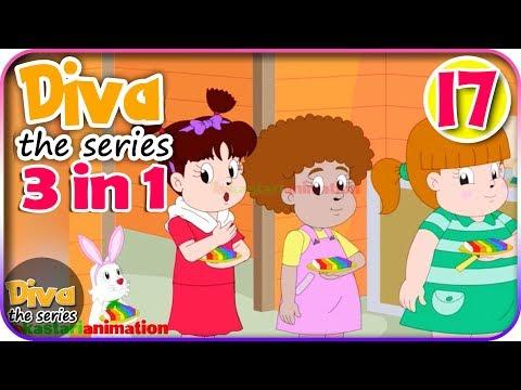 Seri Diva 3 in 1   Kompilasi 3 Episode ~ Bagian 17   Diva The Series Official
