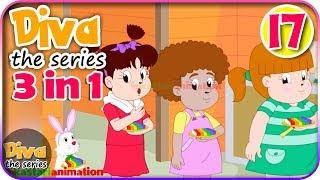 Seri Diva 3 in 1 | Kompilasi 3 Episode ~ Bagian 17 | Diva The Series Official