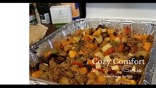 Cozy Comfort Food - Sweet Potato Stuffing