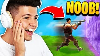 I found the worlds dumbest fortnite: battle royale player...