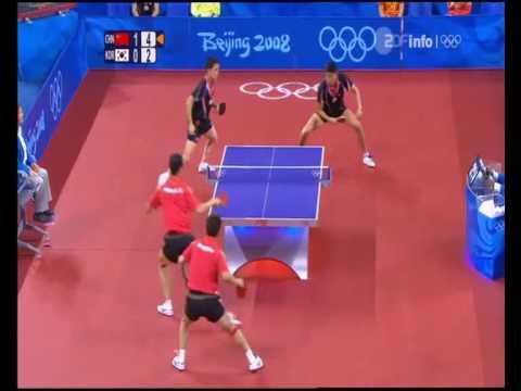 Olympic Games 2008 Wang Liqin/Wang Hao - Yoon Jae Young/Oh Sang Eun