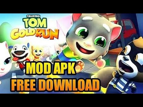 download talking tom gold run mod apk android