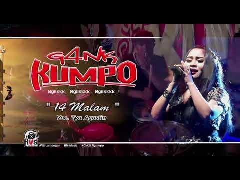 GANK KUMPO - 14 malam - tya agustin live jombang 2017