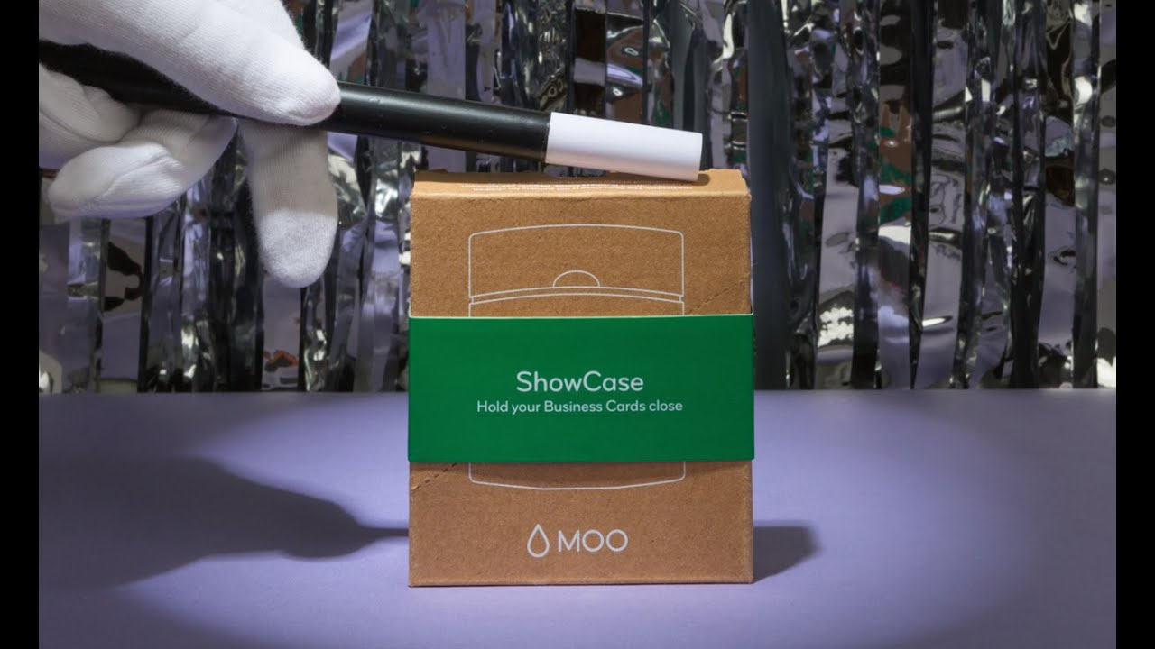 Moo presents the square business card holder youtube moo presents the square business card holder colourmoves