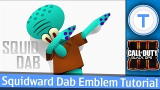 squidward dab black ops 3 emblem tutorial