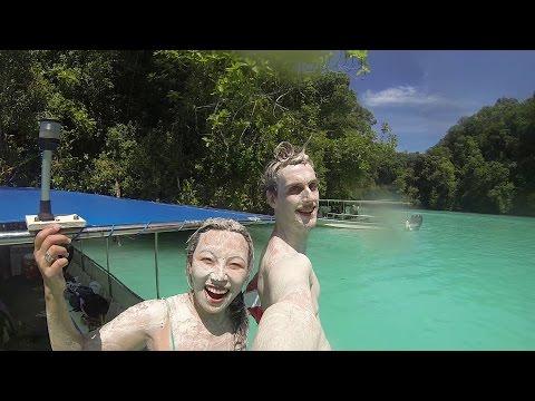 Snorkeling In Jellyfish Lake In Palau